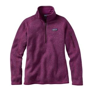 Patagonia Better Sweater 1/2 ZIP Women's Small